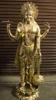 Rukmani arts  brass statues   Code 14