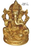 Rukmani arts  brass statues   Code 15