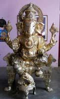 Rukmani arts  brass statues   Code 16
