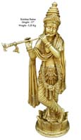 Rukmani arts  brass statues   Code 19