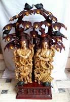 Rukmani arts  brass statues   Code 23