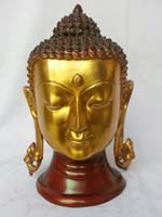 Rukmani arts  brass statues   Code 51