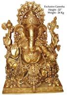 Rukmani arts  brass statues   Code 52