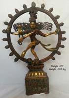 Rukmani arts  brass statues   Code 57