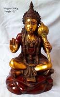 Rukmani arts  brass statues   Code 59