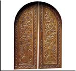 Indian Style Teakwood Doors Designs Photos