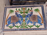 Color Glass Mosaic & Tikri Mirror works, Item Number: 11