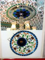 Color Glass Mosaic & Tikri Mirror works, Item Number: 15