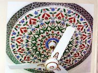 Color Glass Mosaic & Tikri Mirror works, Item Number: 18