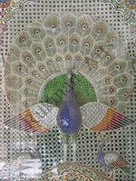 Color Glass Mosaic & Tikri Mirror works, Item Number: 22