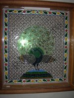 Color Glass Mosaic & Tikri Mirror works, Item Number: 26