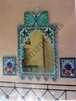Color Glass Mosaic & Tikri Mirror works, Item Number: 3