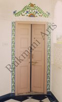 Color Glass Mosaic & Tikri Mirror works, Item Number: 32