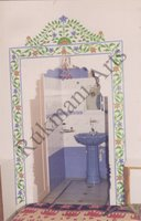 Color Glass Mosaic & Tikri Mirror works, Item Number: 34