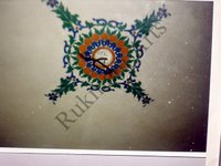 Color Glass Mosaic & Tikri Mirror works, Item Number: 37