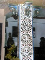 Color Glass Mosaic & Tikri Mirror works, Item Number: 4