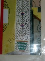 Color Glass Mosaic & Tikri Mirror works, Item Number: 42