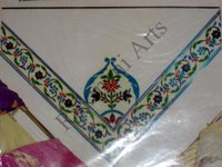 Color Glass Mosaic & Tikri Mirror works, Item Number: 47