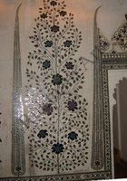 Color Glass Mosaic & Tikri Mirror works, Item Number: 5