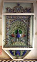Color Glass Mosaic & Tikri Mirror works, Item Number: 51