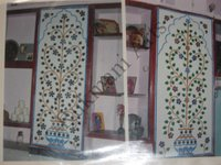 Color Glass Mosaic & Tikri Mirror works, Item Number: 52