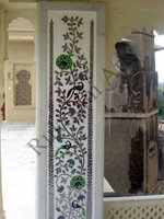 Color Glass Mosaic & Tikri Mirror works, Item Number: 54