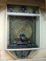 Color Glass Mosaic & Tikri Mirror works, Item Number: 60