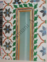 Color Glass Mosaic & Tikri Mirror works, Item Number: 61