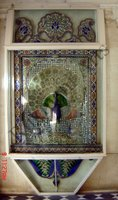 Color Glass Mosaic & Tikri Mirror works, Item Number: 62