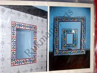 Color Glass Mosaic & Tikri Mirror works, Item Number: 63