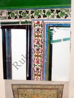 Color Glass Mosaic & Tikri Mirror works, Item Number: 68