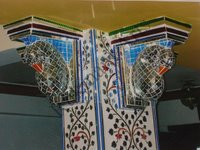 Color Glass Mosaic & Tikri Mirror works, Item Number: 9
