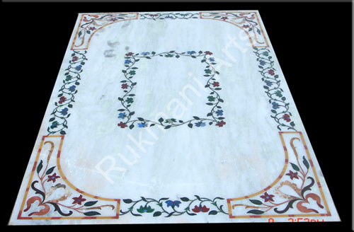 Code 80 Marble Inlay Flooring Designs for hotels offices  : 80 from www.rukmaniarts.com size 500 x 328 jpeg 40kB