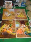 Rajasthani Indian Paintings Products, Item Number: 106