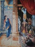 Rajasthani Indian Paintings Products, Item Number: 161