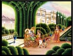 Rajasthani Indian Paintings Products, Item Number: 70