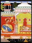 Rajasthani Indian Paintings Products, Item Number: 73