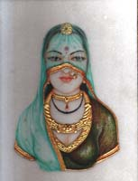 Rajasthani Indian Paintings Products, Item Number: 97