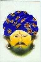 Rajasthani Indian Paintings Products, Item Number: 98