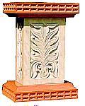 Rukmani arts  pedestals   Code 88