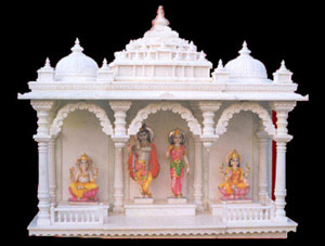 Mandir Design  Home on White Marble Temple   Mandir Marble Temple   Mandir Home Designs