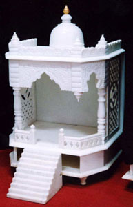 Code 7 catalog marble carved white marble temple mandir marble temple mandir home designs for Marble temple designs for home