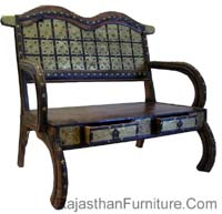 Jodhpur Wooden Rajasthan Furniture, Item code-63