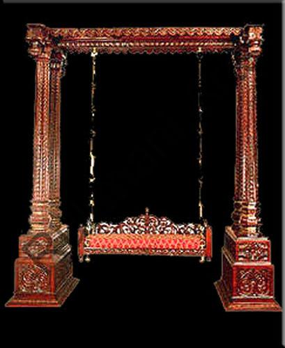 Rukmani arts  wooden swings 18