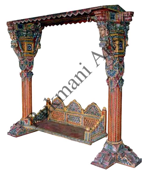 Rukmani arts  wooden swings 29