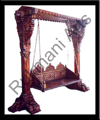 Rukmani arts  wooden swings 30