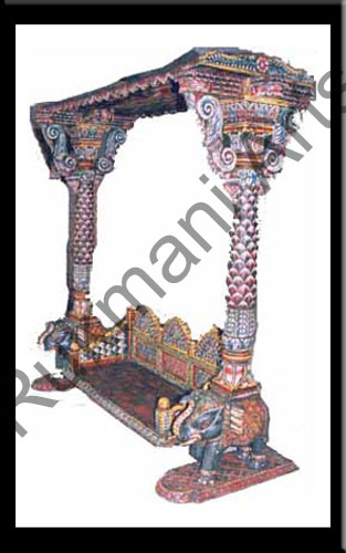 Rukmani arts  wooden swings 5