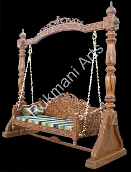 Rukmani arts  wooden swings 55