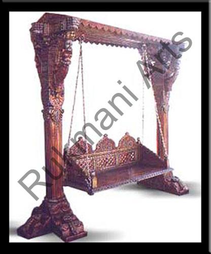 Rukmani arts  wooden swings 7