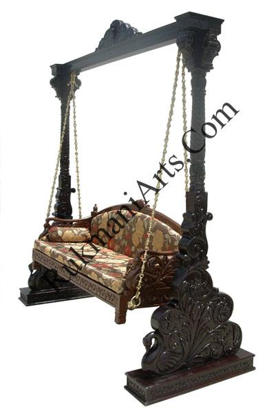 Rukmani arts  wooden swings 70